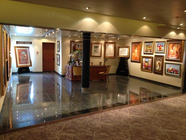 Seven Seas Voyager Art Gallery