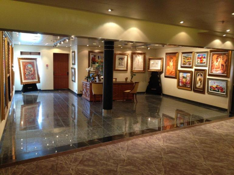 Seven Seas Voyager Art Gallery