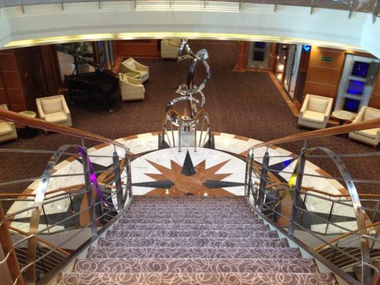 Seven Seas Voyager Atrium