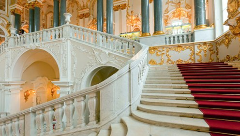 Hermitage Museum Staircase