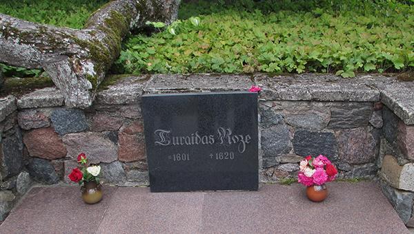 Rose of Turaida Tomb in Sigulda