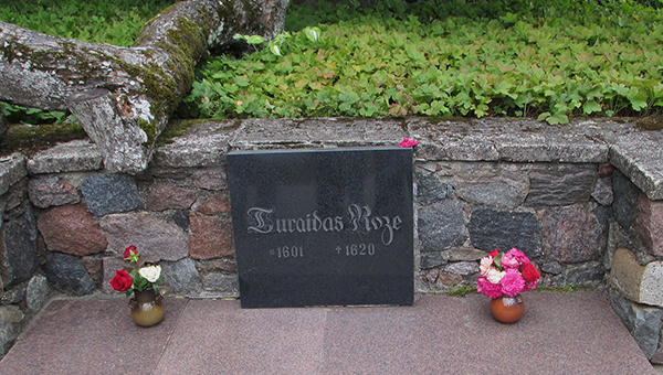 Rose of Turaida Tomb in Sigulda