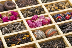 Herbal, Green & Flower Teas