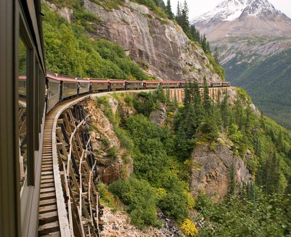 Skagway's White Pass & Yukon Railroad