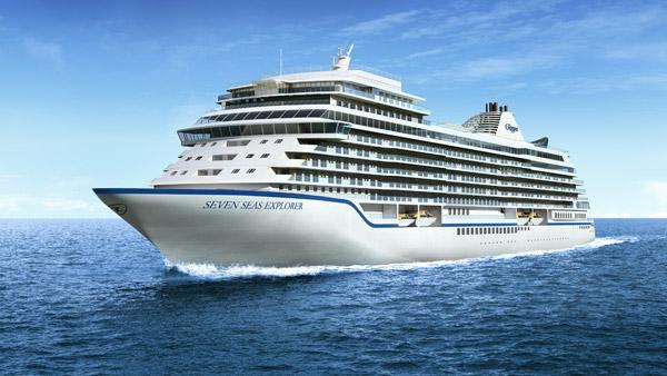 Seven Seas Explorer Rendering