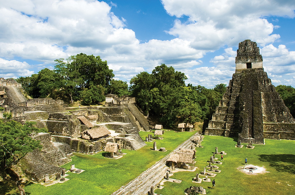 Route of the Mayas: Tikal by Air – Santo Tomás de Castilla, Guatemala