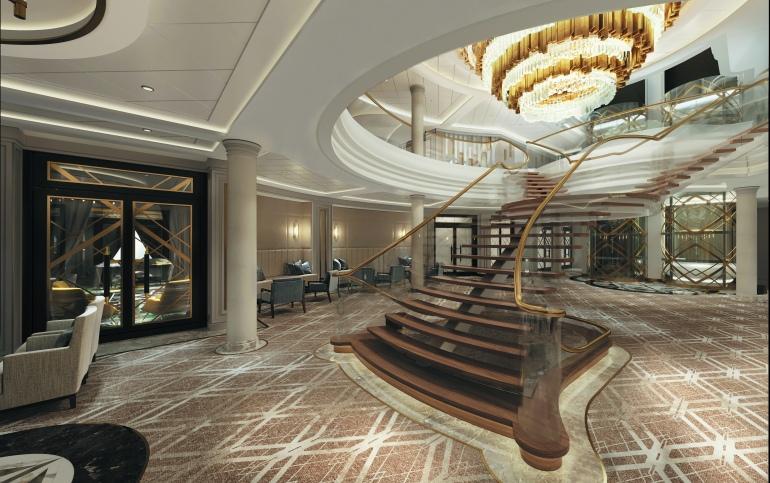 SPL Atrium DK 4 Decorative Stairs