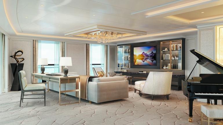 SPL Regent Suite Living Room